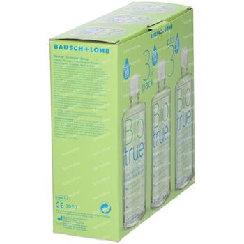 Bausch & Lomb Biotrue Solution Multifonctions 3x300 ml