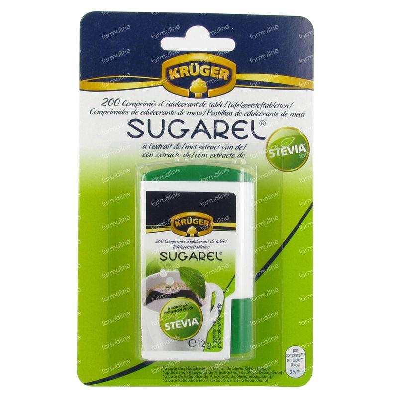 sugarel stevia zoetstof 200 tabletten hier online bestellen. Black Bedroom Furniture Sets. Home Design Ideas
