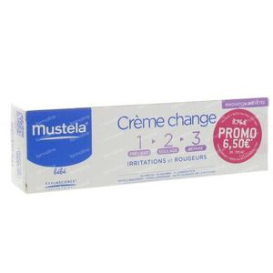 Mustela Vitamin Barrier Cream Tube 100 ml