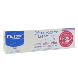 Mustela Vitamin Barrier Cream Tube 100 ml