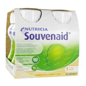 Nutricia Souvenaid Vaniglia 4x125 ml