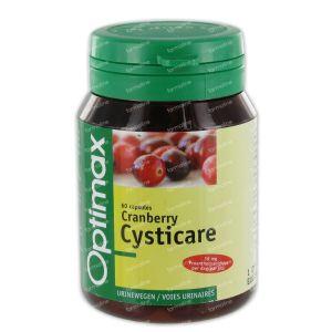 Optimax Plus Cranberry Cysticare 60 capsules
