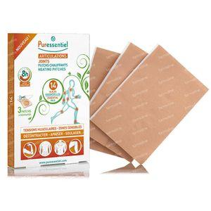 Puressentiel Gewrichten & Spieren Verwarmende Patches 14 Essentiële Oliën 3 pleisters
