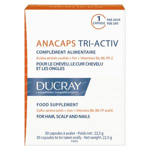 Ducray Anacaps Tri-Activ 30 kapseln
