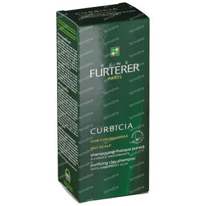 Rene Furterer Curbicia Purifying Clay Shampoo 100 ml tubo