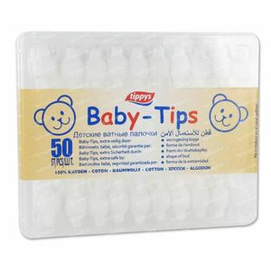 Tippys Baby-tips Cotton Swabs 50 pieces