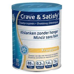 Crave & Satisfy Protéines Diététique Frangipane 200 g poudre