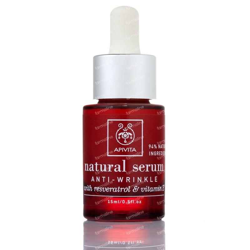 apivita serum naturel anti rides avec vitamine e resveratrol 15 ml flacon commander ici en. Black Bedroom Furniture Sets. Home Design Ideas