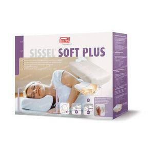 Sissel Soft Plus Hoofdkussen Visco-Elastisch + Hoes Ivoor 1 stuk