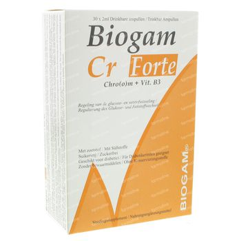 Biogam Cr Forte 60 ml ampoules