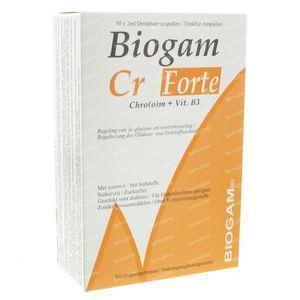 Biogam Cr Forte 60 ml ampoules