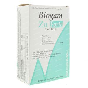 Biogam Zn Forte 30 ampoules