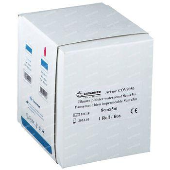 Cova Detect 8Cm x 5M Bleu Waterproof 1 pièce