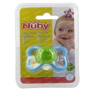Nuby Pacifier Tritan Paci-pals Ovaal 6-18m 1 item