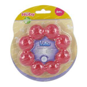 Nuby Cool Teething Ring Ice Gel +4m 1 item