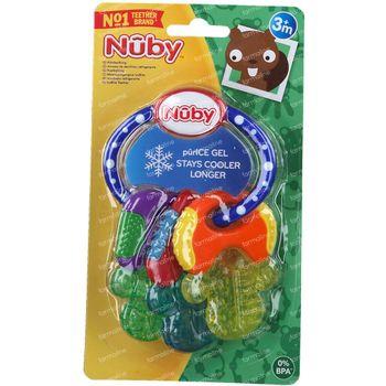 Nûby Clefs de Dentition Réfrigérante 3+ Moins 1 pièce