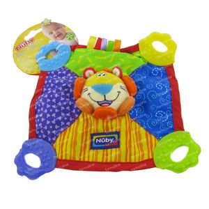 Nuby Cloth With 4 Teethers 1 item
