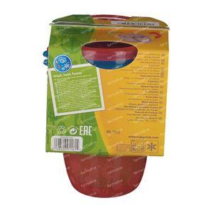 Nuby Pot + Couvercle 120 ml 6 pièces