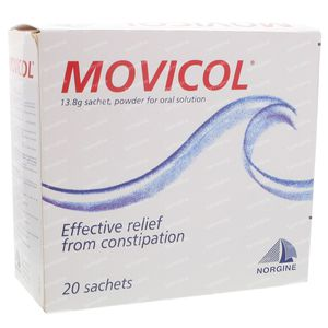 Movicol Pi Pharma 20x13,8 g zakjes
