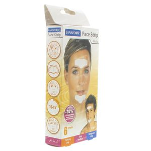 Lanaform Face Strips Patch Anti-Pustules 6 pièces