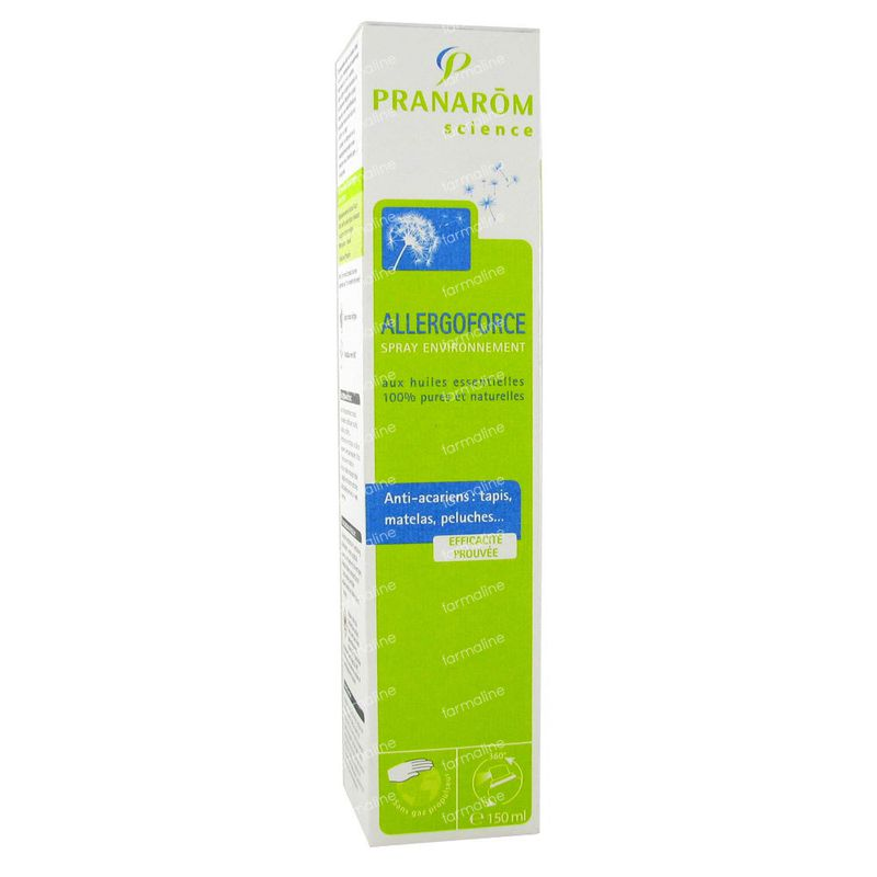 Pranarom Allergoforce Spray Anti Acariens De La Poussiere 150 Ml