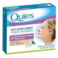 Quies Anti-Snurk Neusstrips 24 st