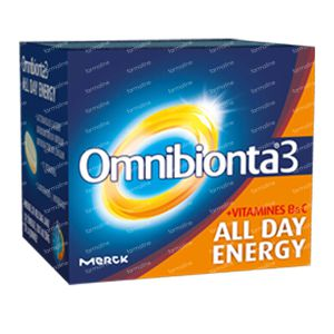 Omnibionta 3 All Day Energy 90 stuks Capsule