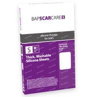 Bap Scar Care S Transparant Litteken Siliconenverband 10x15cm 60s1015 2 st