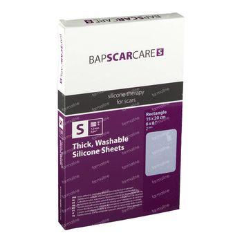 Bap Scar Care S Pansement Lavable Cicatrices15x20cm 60s1520 2 st