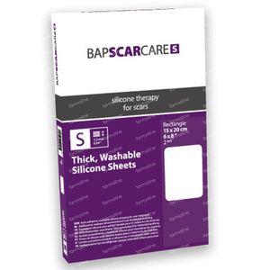 Bap Scar Care S Wasbaar Litteken Verband 15x20cm 60s1520 2 stuks