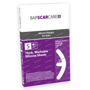 Bap Scar Care S Mamma Anchor Washable Scar Dressing 60s081030 4 pieces