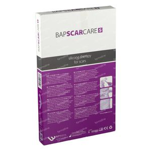 Bap Scar Care S Mamma Anchor Pansement Cicatrice Lavable 60s081030 4 pièces