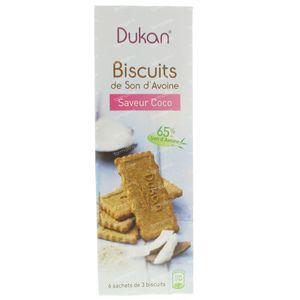Dukan Koekjes met Kokosnoot 18 St zakjes