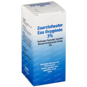 Eau oxygene 3% 125 ml solution