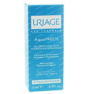 Uriage Aquaprecis Anti-Fatigue Eye Gel 15 ml
