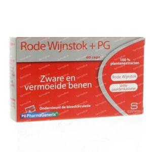 Pharmagenerix Red Vine + PG 60 capsules
