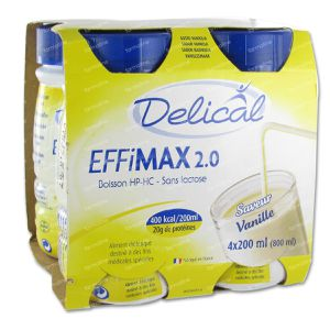 Delical Effimax 2.0 Vanille 800 ml