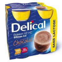 Delical Effimax 2.0 Chocolade 800 ml