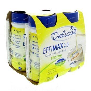 Delical Effimax 2.0 Fibres Céréales 800 ml