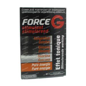 Nutrisante Force G Stimulant: Tonic Effect 10 ampoules