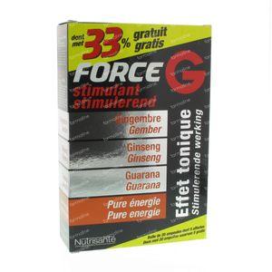 Nutrisante Force G Stimulant + 33% Gratis 20 ampullen