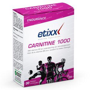 Etixx Carnitine 1000 30 tablets