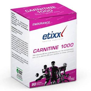 Etixx Carnitine 1000 90 St Compresse