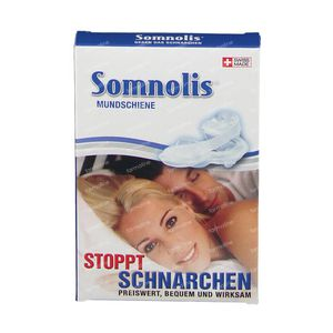 Somnolis Mouth Bracket Anti-Snoring Latex Free 1 item