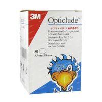 3M Opticlude Oogpleister Boys & Girls Maxi 5,7cm x 8cm 2539MPE 50 stuks