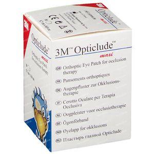 Opticlude Pansement Orthoptique Maxi 1539M 50 pièces