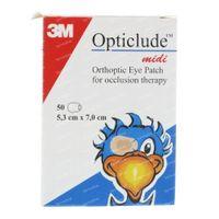 Opticlude Oogpleisters Midi 1538M 50 st