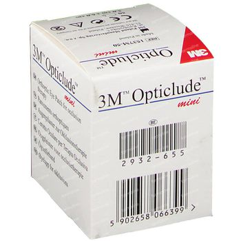 Opticlude Oogpleister Mini 5cm x 6cm 1537M 50 stuks