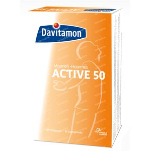 Davitamon Active 50+ Men 30 St Compresse