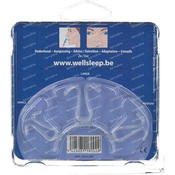 Wellsleep Nasalclip Nas  Dilatator S-M-L 1 st